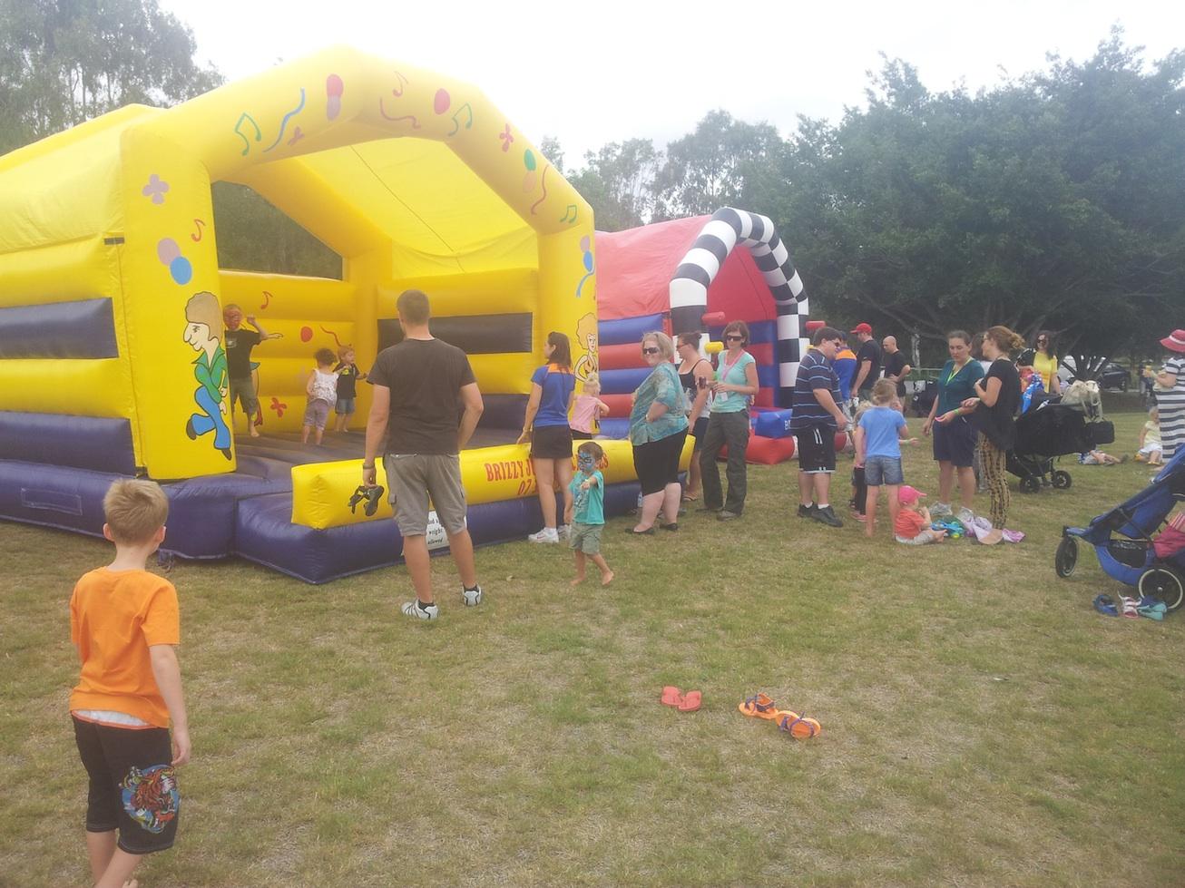 Jumping Castles at Fundraiser