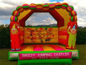 Clowns Circus Jumping Castle