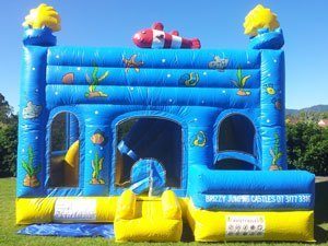 Fish Jumping Castle
