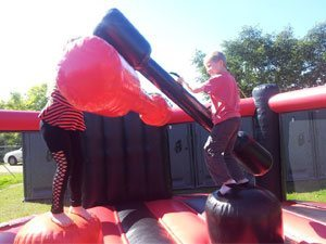 Gladiator Duel Jousting Cage