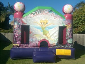 Tinker Bell Jumping Castle