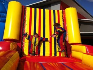 Velcro Sticky Fly Wall Jumping Castle
