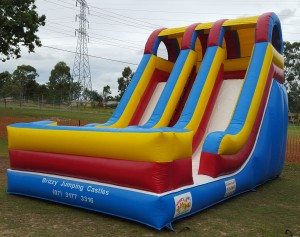 Dual Lane Giant Slide - 3