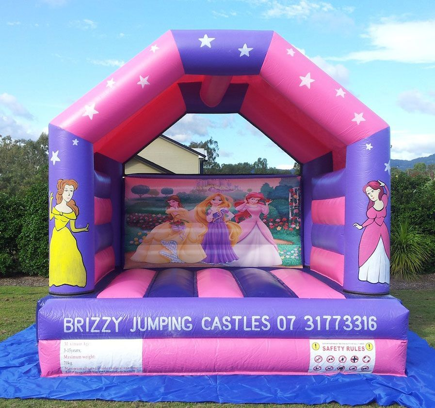 Princess Jumping Castle 2