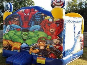 Super Hero Jumping Castle