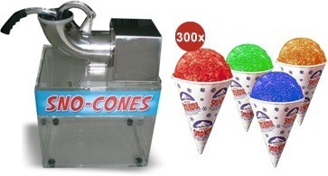 Snow Cone Machine Packages