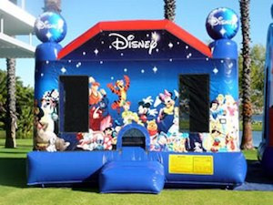 World of Disney Bouncy Castle