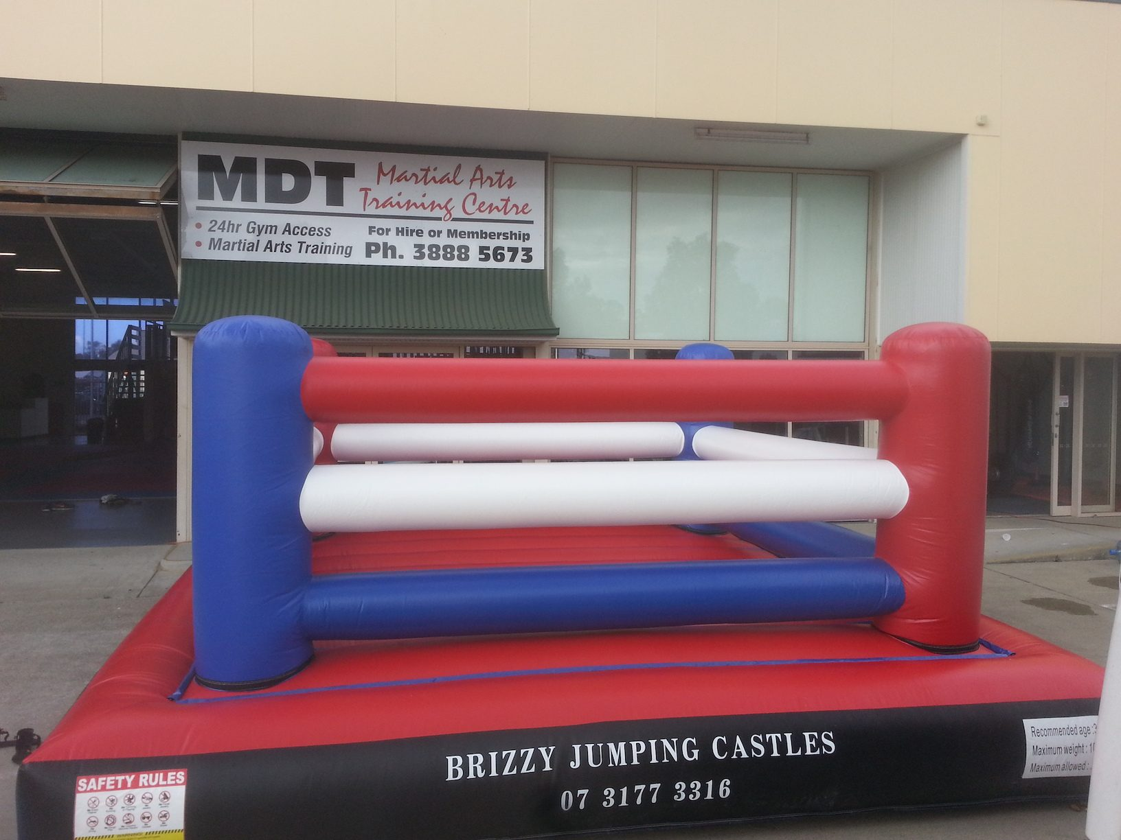 Bouncy Boxing Ring