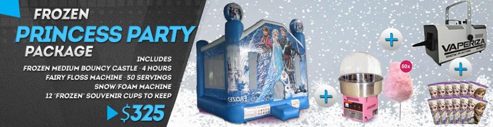 Frozen Jumping Castle Package