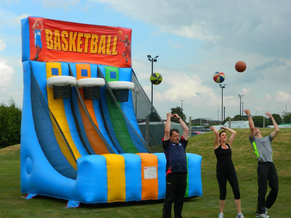 Inflatable Basketball Shootout