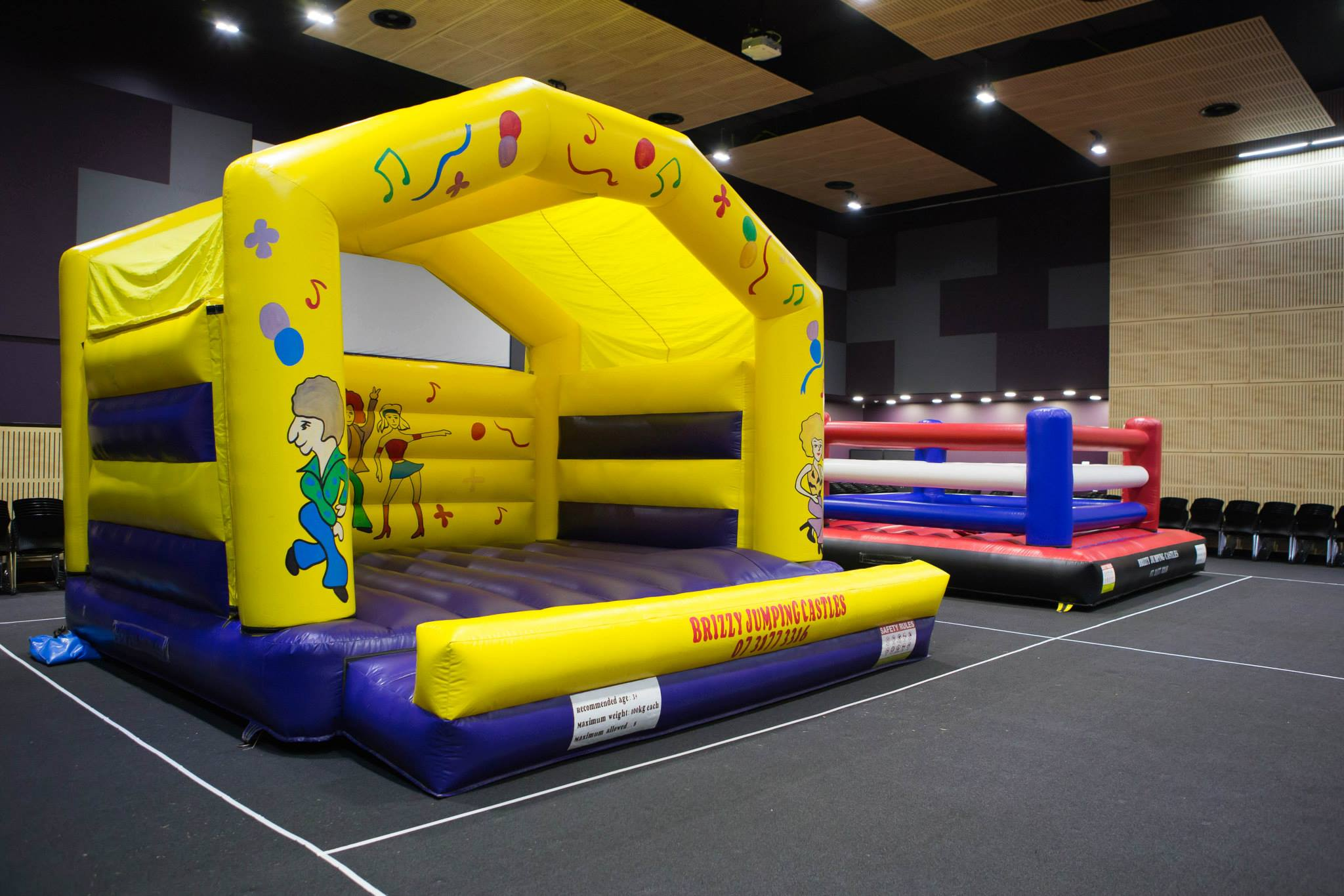 Church Youth Group Jumping Castle