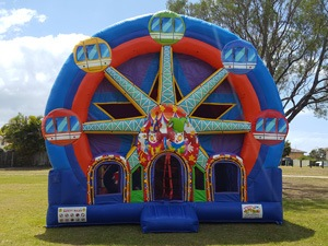 Large Combo Jumping Castle Hire