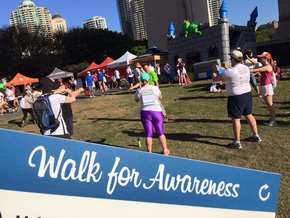 Mental Awareness Foundation Walk Jumping Castle