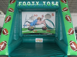 Footy Toss Game