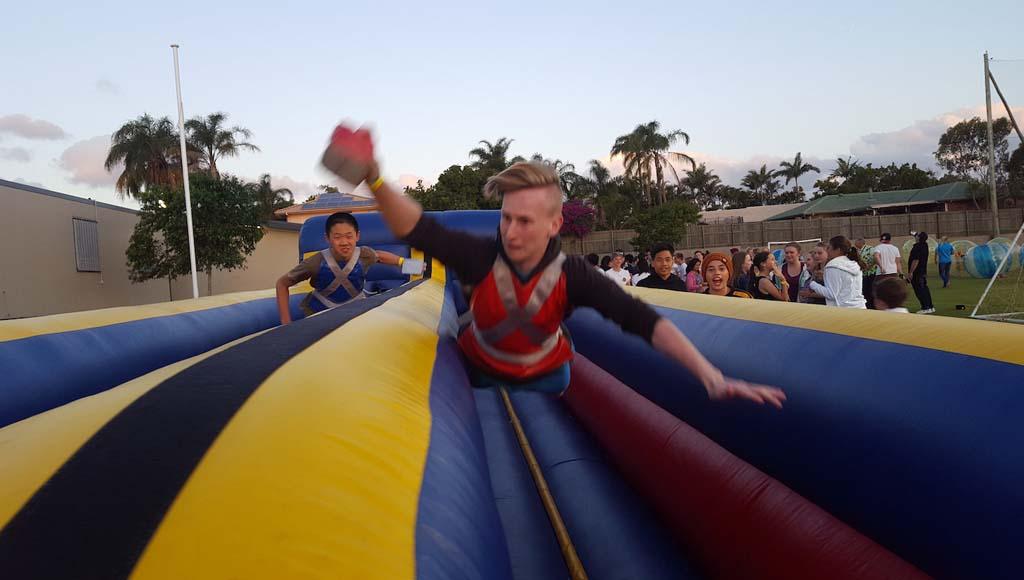 Dual Lane Bungee Run Inflatable - 9