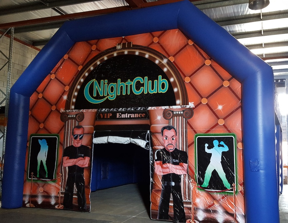Inflatable Night Club