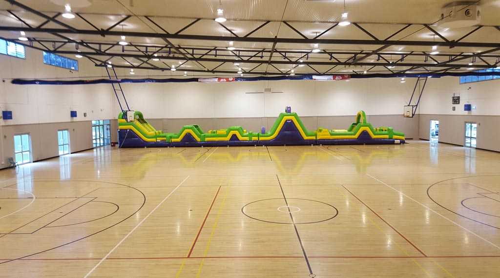 Giant Inflatable Obstacle Course 30 Metres - 13