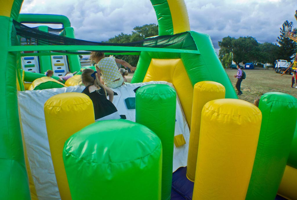 Giant Inflatable Obstacle Course 30 Metres - 7