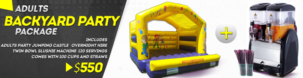 Adults Jumping Castle Package