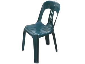 Green Plastic Chair Hire