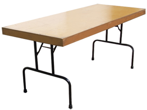 Trestle Table 1.8 Metre