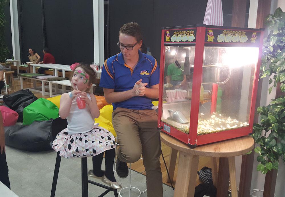 Popcorn Machine Hire - 1