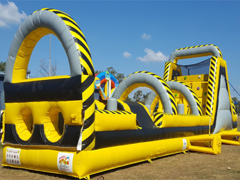Atomic 2 Inflatable Obstacle Course