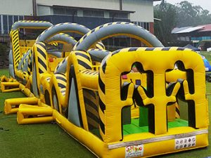 Atomic Mayhem Inflatable Obstacle Course