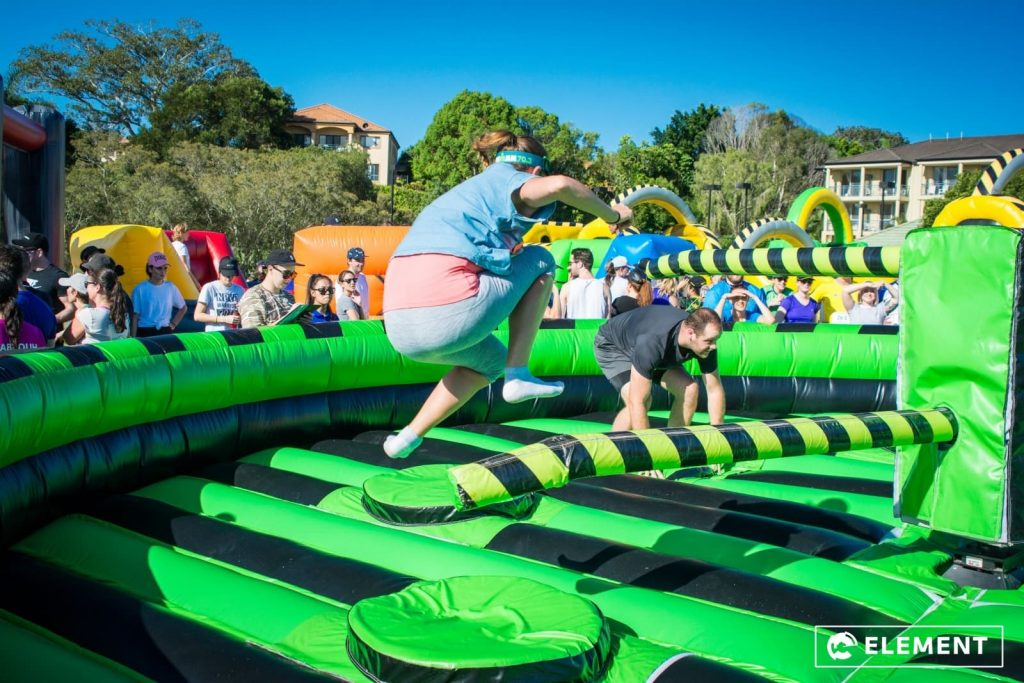 Inflatable Wipeout Meltdown - Brisbane