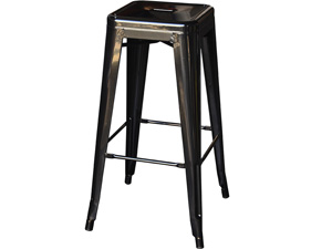 Tolix Bar Stool Hire Front