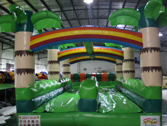 Tropical Water Slide - Front