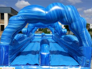 Waterworld Inflatable Slip N Slide - Front