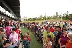 Queens Baton Relay Event Toowong