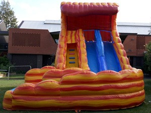 Fire n Ice Water Slide Front