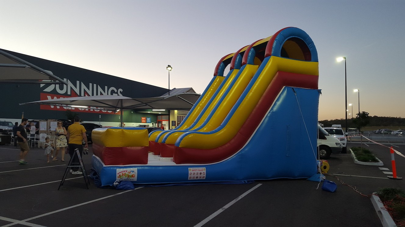 Jumping Castle at Bunnings