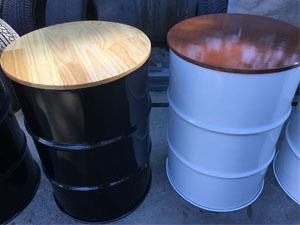 Drum Barrel Bar Table Hire