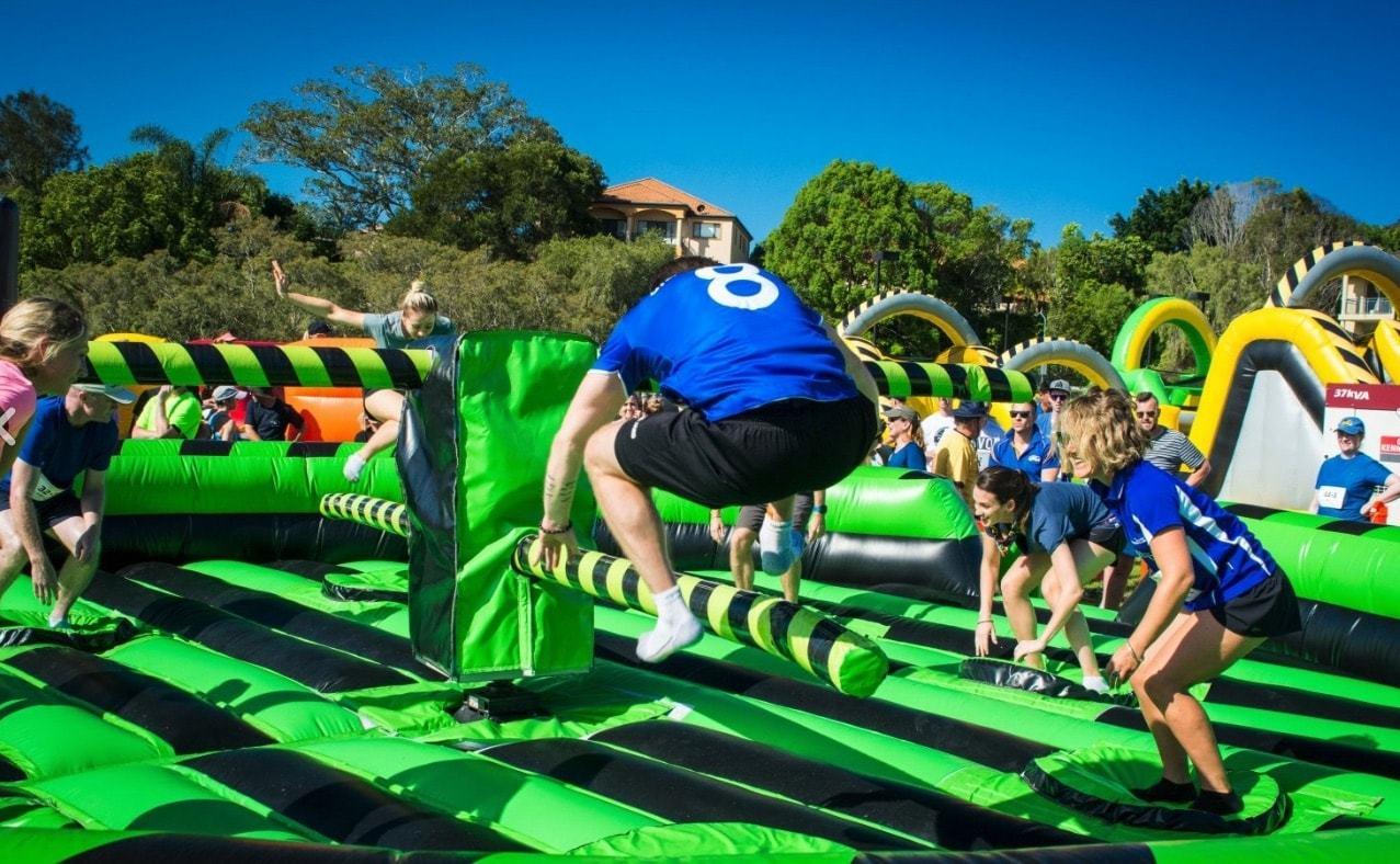 Inflatable Games for your School Fete
