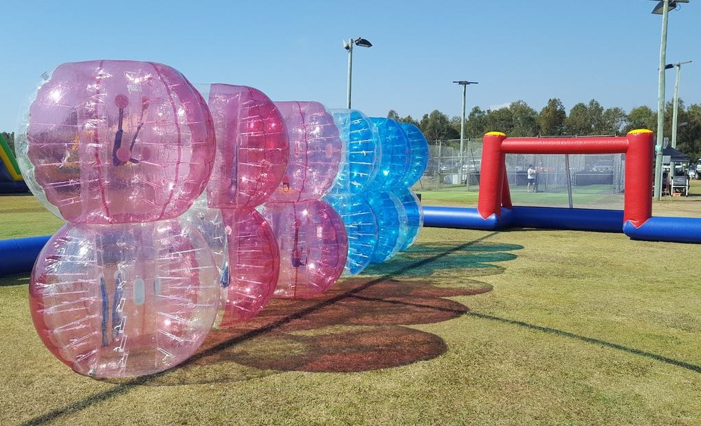 Play Bubble Soccet at your School Fete
