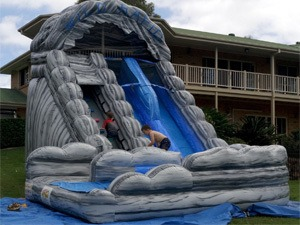 Inflatable Dual Lane Water Slide Hire