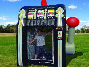 Inflatable Cash Grab Hire