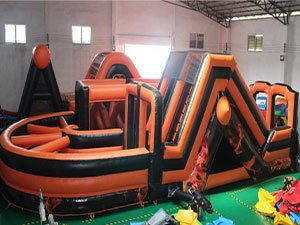 Firestorm Inflatable Obstacle Course