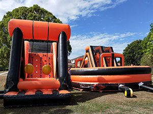 Firestorm Inflatable Obstacle Course Hire