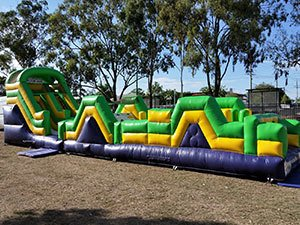 Inflatable Obstacle Course Hire Brisbane