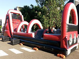 Rage Inflatable Obstacle Hire