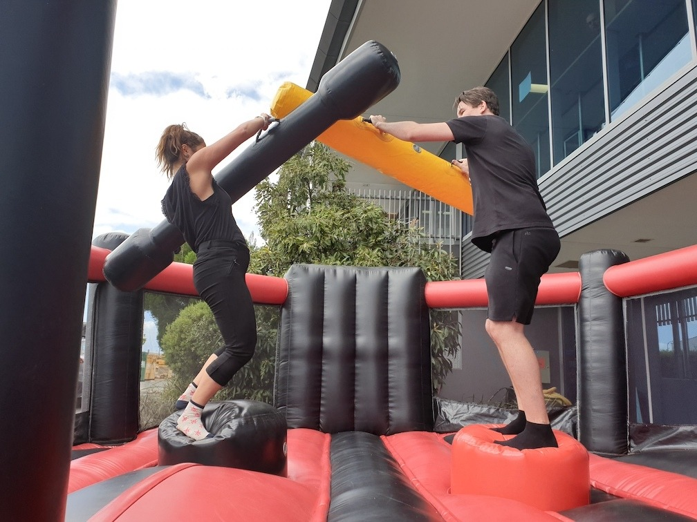 Inflatable Gladiator Jousting