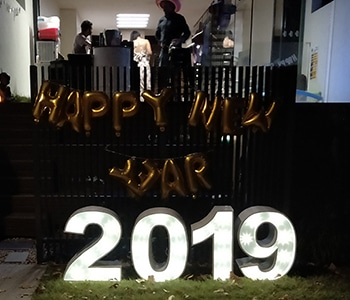 2019 Letter Lights Brisbane