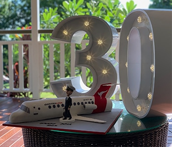 30th Birthday Letter Lights