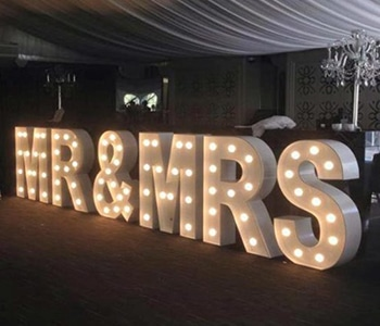 Mr & Mrs Wedding Lights