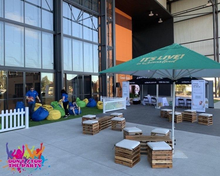 Pallet Furniture Hire Brisbane